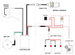 Electric Scooter Wiring Diagrams 24 Volt Wiring Diagram for Scooter