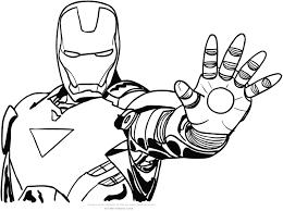 Disegni Di Iron Man Da Colorare Avec Disegno Di Iron Man Ferma Il