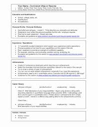 Resume Interests Section Interest and Hobbies for Resume Samples Luxury Resume for 93
