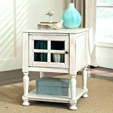 side table off white off white bedside table cream side medium size of end small distressed side table off white