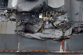 Military releases details about how USS Fitzgerald crashed New.