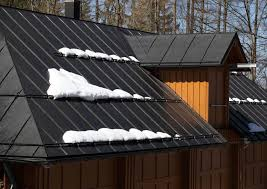 metal roofing is great in snow country because it is fire resistant lightweight and
