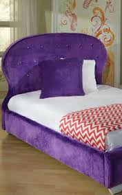 Purple Marilyn Twin Bed by Standard at Furniture Warehouse