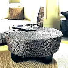upholstered storage base ottoman small round coffee table furniture fascinating low c