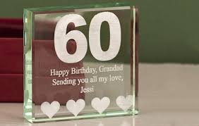 celebrate with a touch of gl a super 60th gift60th birthday
