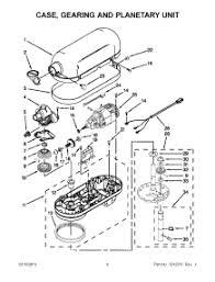 kitchenaid mixer electrical diagram kitchen design Kitchenaid Mixer Wiring Diagram 02 case gearing and planetary unit parts for kitchenaid mixer kp26m1xwh5 from appliancepartspros kitchenaid stand mixer wiring diagram