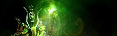 download wallpaper 3840x1200 rubick the grand magus dota 2 art