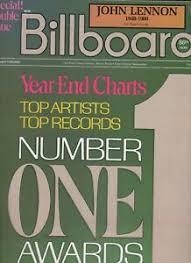Details About John Lennon Billboard Magazine Dec 20 1980 John Lennon Death