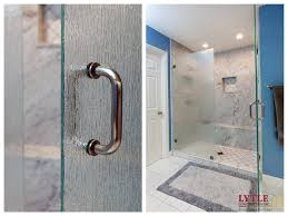 bathroom remodel in sacramento with solid marble slab shower