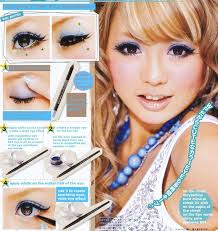 make up tutorial anese i would use a peach or gold eyeshadow