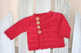 Knitting Patterns For Baby Sweaters Knit In One Piece