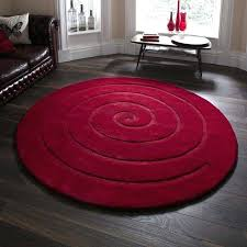 red circle rug the spiral circular rug in red is hand made in with a hand red circle rug