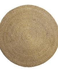 round seagrass rug natural Ø200cm bloomingville petite lily interiors