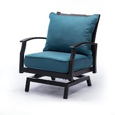 allen roth carrinbridge set of 2 motion patio chairs with deep sea cushions