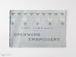 Openwork Embroidery Dmc社 刺繍図案集 ヴィンテージ北欧食器北欧雑貨 Karahe