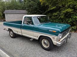 1968 Ford F-250 Camper Special Pickup for sale on BaT Auctions ...