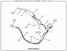 wiring diagram electric start lawn mower wiring diagram black and decker electric lawn mower mm850 wiring diagram