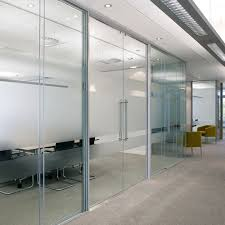 office glass door glazed. CAD Drawings Avanti Systems USA Frameless Glass Partition Systems: Solare™ Acoustic Double Glazed - Office Door S
