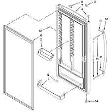whirlpool upright zer parts model evl181nxtq01 sears door parts