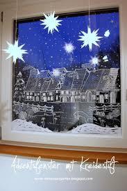 Ein Schweizer Garten Das Adventsfenster Fensterdeko Mit