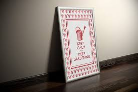 funny gifts for gardeners keep calm