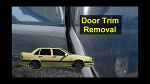 Volvo 850 Door <b>trim molding</b> removal - <b>Auto</b> Repair Series - YouTube