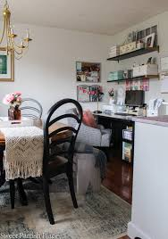 office in dining room. Modern Farmhouse Dining Room Office In W