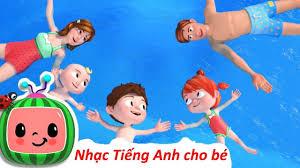 Bài hát Swimming Song ♫ Nhạc Thiếu Nhi Tiếng Anh ♫ Nhạc Cho Bé Hay Nhất