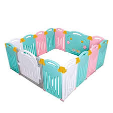 Uanlauo Foldable Baby Playpen Safety Play Yard for ... - Amazon.com