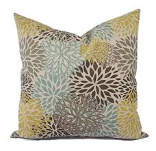 decorative pillow shams. Beautiful Decorative Yellow Blue And Beige Floral Pillow Shams  Covers  Linen Cases Throughout Decorative M