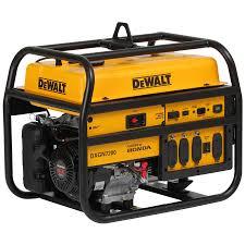honda portable generators. Wonderful Generators DEWALT 6100RunningWatt Portable Generator With Honda Engine For Generators
