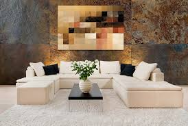 Decorated Design Mesmerizing Home Decorating With Modern Art