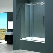 sliding bathtub doors sliding bathtub doors house a inch clear glass tub sliding door semi sliding