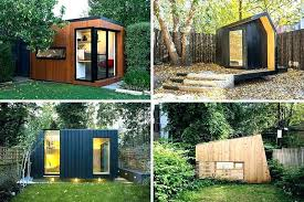 prefab office shed. Shed Office Plans Backyard The Best Prefabricated Outdoor Home Offices Designs Prefab .