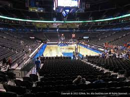 Chesapeake Arena Seating Chart With Rows Chesapeake Energy Arena Seat Views Section By Section