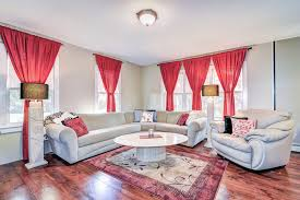 5 7 area rugs living room transitional with bright red single tie