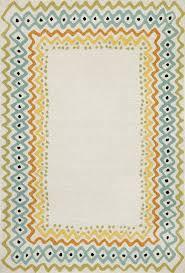 trans ocean capri ethnic border pastel 5 x 7 6 area rug 87215967366