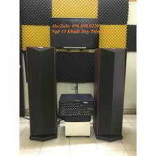 Bộ dàn Karaoke - Nghe nhạc cho Gia đình Gồm Đôi loa cây CỰC ĐẸP và HAY + Âm  ly + Micro chính hãng 5,800,000đ