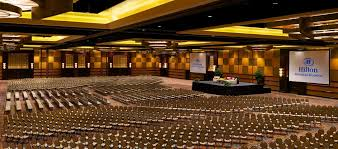 view of hotel grand ballroom