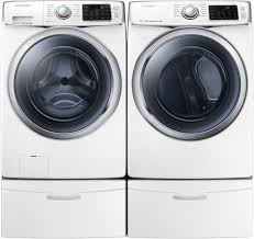 Gas Washers And Dryers Samsung Dv42h5600gw 27 Inch Front Load Gas Dryer With 75 Cu Ft