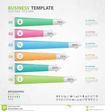 Slide O Chart Infographics Elements Diagram With 6 Steps Options Slide