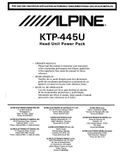 alpine ktp 445u owners manual Ktp 445u Wiring Diagram type your new search above alpine ktp 445u wiring diagram