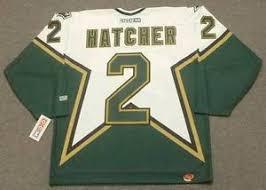 Dallas Stars Ccm Hatcher Hockey Details 1999 Nhl About Derian Home Throwback Jersey