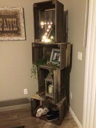 decorative corner shelves small shelf unit wood best ideas on