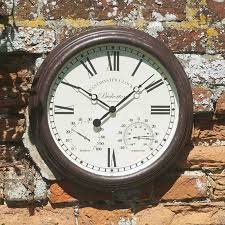 bickerton wall clock thermometer