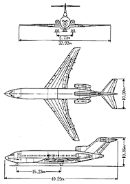 fleet history ana boeing 727 100