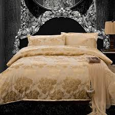 100 satin silk comforter sets