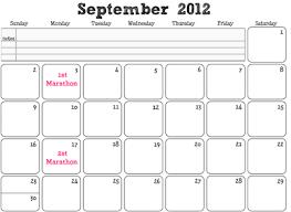 Calendar Raffle Template Calendar Fundraiser Template
