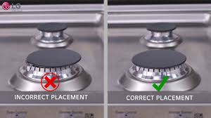 clean gas stove top throughout lg range burner head cap grate cook cleaning you inspirations 18