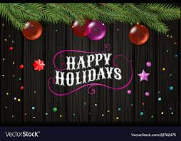 Happy Holiday Card Templates Happy Holidays Christmas Wishes Card Template Top